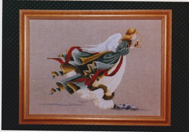 THE FIRST ANGEL OF LIGHT Cross Stitch Pattern FREE SHIPPING