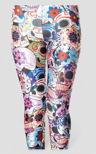 Day of the Dead Sugar Skull leggings