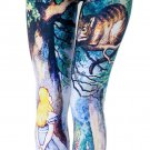 Alice in Wonderland leggings