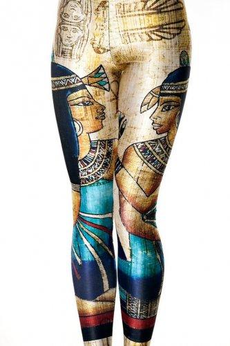 Egyptian pharaoh king leggings