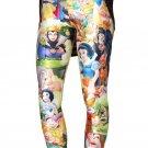 Ladies Snow White Princess leggings