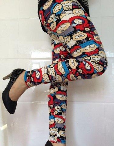 Ladies Southpark leggings 3 colors