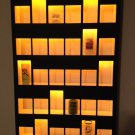 30-Mixed (Short & Tall) Shot Glass Display Case