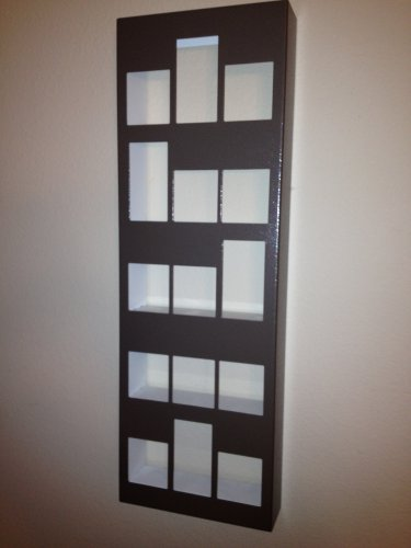 15-Mixed (Short & Tall) Shot Glass Display Case