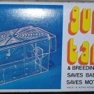 "GUPPY LIVE BEARER 5""x3"" BREEDING BREEDER V-TRAP BETTA DISPLAY FLOATING TANK NEW"