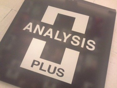 Analysis Plus Oval One  1m 3 foot Mint