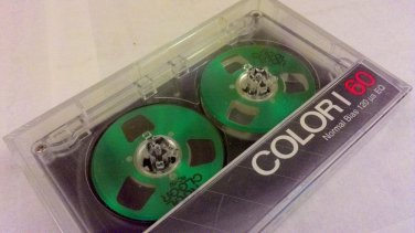 Green Color Reel to Reel Audio Cassette Tape New