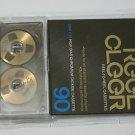 Gold Chrome Reel to Reel Cassette Tape