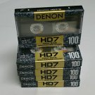Denon HD7-100 Hi Bias Audio Cassette Tapes Made in Japan