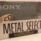 SONY Metal Select 90  Type IV Audio Cassette   Made in Japan New