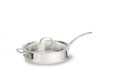 Calphalon Triply 3qt Saute Pan and Cover New Tri-ply Retail Box