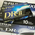 10 Fuji Hi Bias Audio Cassette Tapes for Sony Nakamichi