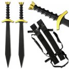 King Arthur Lancelot Twin Viking Sword Set