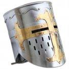 Knights Templar Crusader Helmet Medieval Armor