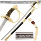 CSA Cavalry Sword Civil War Officer