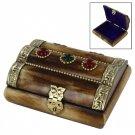Handcrafted Indian Princess Bone Jewelry Box