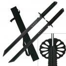 2 Pc Ninja Sword Set & Scabbard