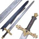 Gold King Arthurs Excaliber