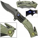 AO ARMY LED Rescue Knife