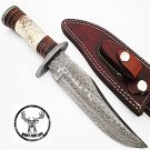 Damascus Hunt For Life Devils Gate Hunting Knife