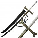 Yuro Black Sword Manga Anime Series Sword