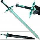 SAO Dark Repulser Sword w Leather Sheath Kirito Kirigaya Sword Art Online Turquoise