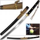 Modern Sporting Sword Tactical Wakizashi of Honshou 1045 High Carbon w 550 Paracord