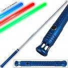 Jedi Lightsaber 1:1 Replica Padawan Series Window'd Tri-Light Blue Handle 48.5in