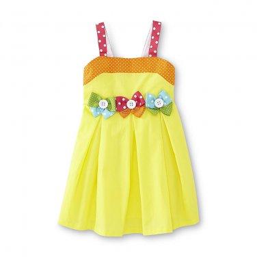 12M Ashley Ann Infant & Toddler Girl's Pleated Sundress - Bows