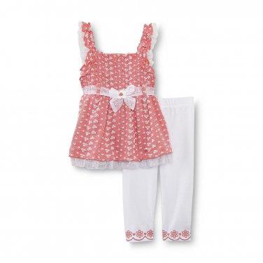 12M Little Lass Infant & Toddler Girl's Tank Top & Shorts - Sequins