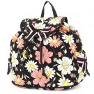 BELVAH QUILTED FLORAL DRAWSTRING BACKPACK QCF2728(BKPK) BS500B