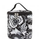 Belvah quilted paisley black & white lunch bag box QF27LT13(BKWH) BS399
