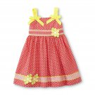24M Blueberi Boulevard Infant & Toddler Girl's Pleated Sundress - Dots