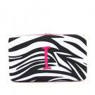 "Ladies initial ""I""  zebra print thick flat wallet MNZ57112(BKFS-I) ) BS100"