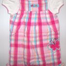 Baby girls 2 peice short set pink short
