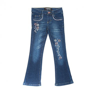 Girls size 4T Freestyle Revolution Boot cut Jeans pants B559