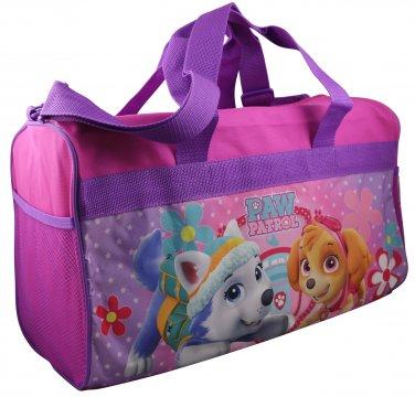 "Girls 18"" pink Paw Patrol canvas duffle bag  PK750"