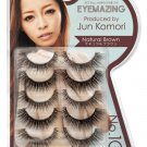 Eyemazing Jun Komori False Eyelashes- 103 Natural Brown