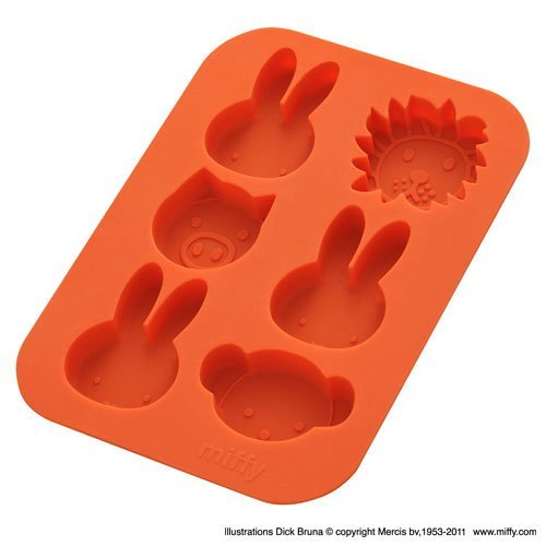 Miffy and Friends Silicone Mold