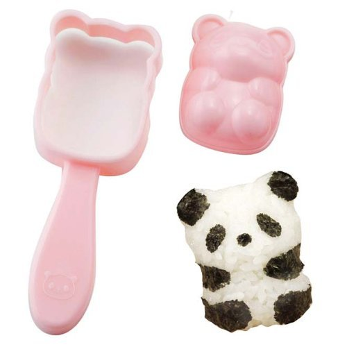 Panda Baby Rice Ball - Oniguiri Mold Set