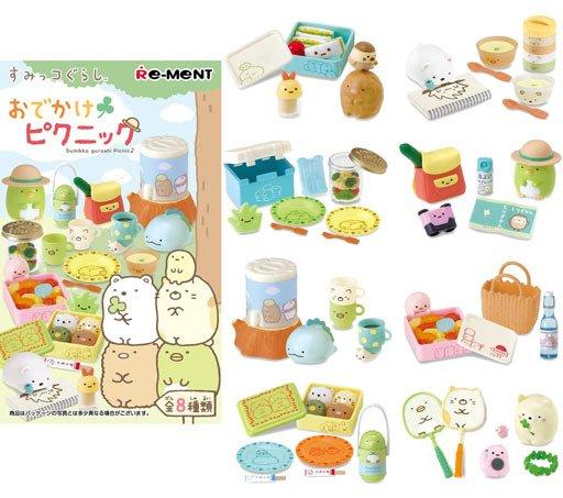 Re-ment - Sumikko Gurashi Picnic Collection - 8 Box Set