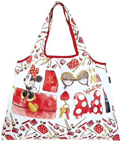 Disney Foldable Eco Bag - Belongings of Minnie Mouse