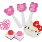 Hello Kitty Rice Ball  Oniguiri Mold Tools by Arnest