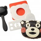 Kumamon Rice Ball Oniguiri Mold Tools by Arnest