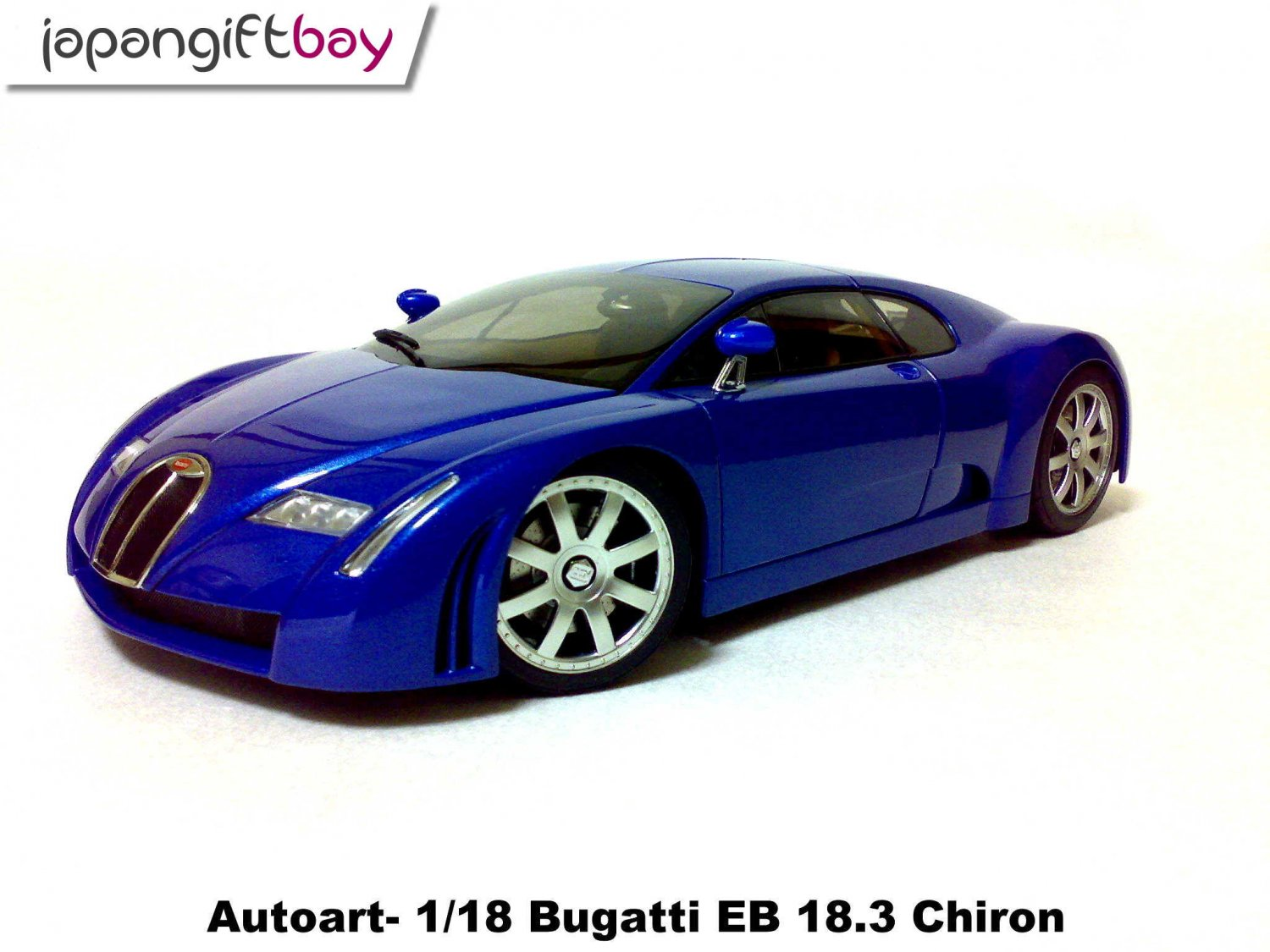 1 18 autoart bugatti eb 18 3 chiron. Black Bedroom Furniture Sets. Home Design Ideas