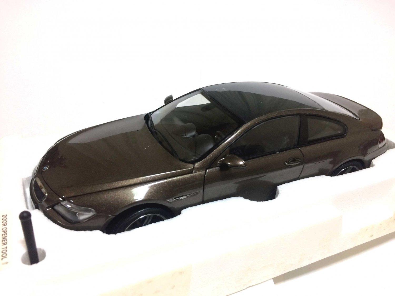 1/18 Kyosho Die-Cast Car Series BMW M6 Bronze