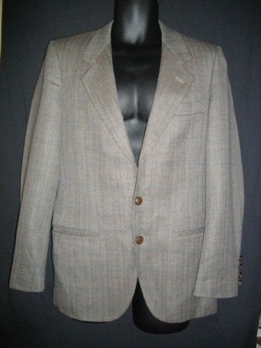 Valentino Uomo Medium M Single Breasted Jacket Blazer Sportswear Coat