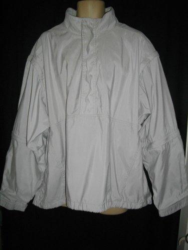 Sportsmaster 2XL Extra Large Light Gray Polyester Jacket Nylon Detachable Coat
