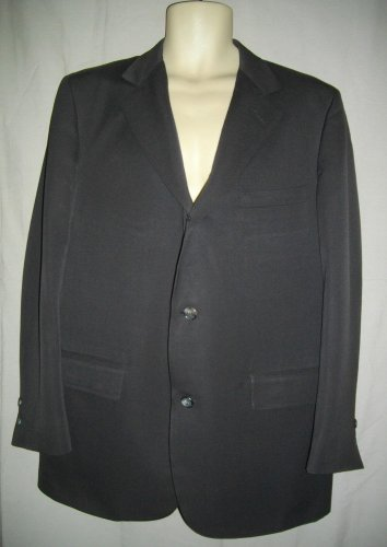 Brook Brothers Sport Coat Large Blazer Brown Single Breasted Three Button Jacket