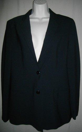 Boss Hugo Boss 46 Italy USA 10 Medium Two Button Blazer Single Breasted Jacket